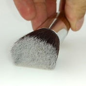 Flat Top Kabuki Brush Goat and Synthetic 35 mm