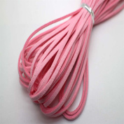 100 Yards 3mm Suede Korean Velvet Leather Cord string Rope Thread 2.0mm thickness Korean Suede Leather, suede leather string Leather GD28ST164