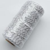 Chenkou Craft 1Roll/100M Natural Jute Hemp Linen Twine Cord String Hemp Rope DIY Craft DIY 4mm