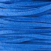 Cornflower Blue Microsuede 1.5mm Thick, 2mm Wide Flat Cord - 25 yard spool