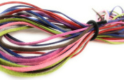 Multi-Colour Faux Suede Cord For Jewellery Making -Bulk Assortment Packs 2.5mm