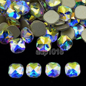 AD Beads Top Czech AB Crystal Multi-Shape Flatback Rhinestone Nail Art Decoration DIY