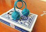 Handmade Begleri EDC Parachute Cord Tool Lanyard Bead pendant Cotton