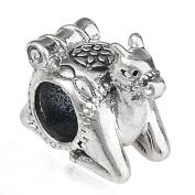 Camel charm -925 Sterling Silver - animal Charm Fits Pandora Charm Bracelets