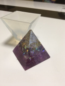 Pyramid Silicone Mould DIY Resin Decorative Craft Jewellery Making Mould