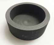 OTOOLWORLD 99.9% Purity Graphite Evaporating Dish Graphite Evaporation Crucible Cup Graphite Distillation Bowl