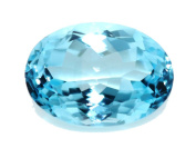 Natural Swiss Blue Topaz 9. 00 ct. Oval For Fancy Ring / Pendant GC11019