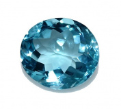 Natural Swiss Blue Topaz 9. 43 ct. Oval For Fancy Ring / Pendant GC11017