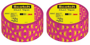 Scotch Duct Tape Pink & Yellow Tribal 910-P2