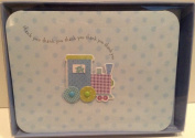 Baby Train Thank You Cards - Pkg. of 8