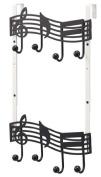 Height-adjustable door hanger note 06 352 by Yamazaki