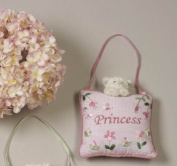 Girl's Room Princess Door Hanger With Cat