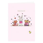 Card Baby Girl KJ132