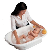2 Position Baby Pearl White Tub Bathtub