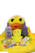 Hooded Duck Towel Bathing Gift Set Bundle