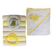 Four Seasons Baby Bath Gift Set, Yellow