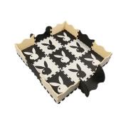 9 Pieces of Waterproof Children Foam Mats Baby Foam Puzzle Play Mat,Rabbit