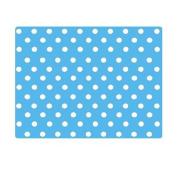 10 Pieces of Waterproof Children Foam Mats Baby Foam Puzzle Play Mat,Blue Dots