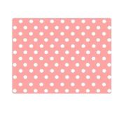 10 Pieces of Waterproof Children Foam Mats Baby Foam Puzzle Play Mat,Pink Dots