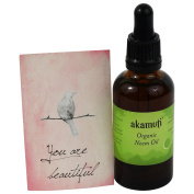 AKAMUTI - Organic Coldpressed Neem Oil - Purifying Treatment for Skin & Scalp - VEGAN