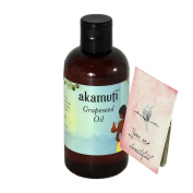 AKAMUTI - Grapeseed Oil - Light Moisturiser for Every Day Skin Care - Protects & tights mature skin - VEGAN