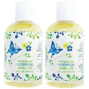 Mummy's Miracle Hypoallergenic, All Natural Moringa Baby Oil 120ml - Pack of 2