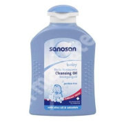 Cleaning baby oil, 200 ml, Sanosan