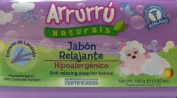 Arrurru Naturals Jabon Relajante, Soft Soap for babies 100ml