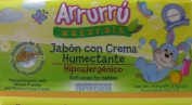 Arrurru Naturals Jabon con Crema Humectante, Soft Soap for babies 100ml