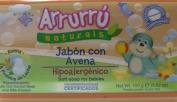 Arrurru Naturals Jabon con Avena, Soft Soap for babies 100ml