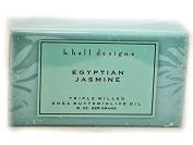 k. hall Egyptian Jasmine Bar Soap