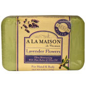 A La Maison de Provence, Hand & Body Bar Soap, Lavender Flowers, 260ml (250 g) - 2pc