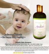 Baby Shampoo And Body Wash 240ml - Gentle Tear Free Formula - Organic and Natural Wash with Essential Oils - Best Gift for Your Loved One
