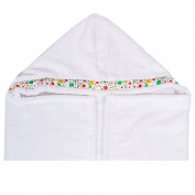 Luxuriously Soft Hooded Baby Towel,100% ORGANIC Cotton,ULTRA SOFT, SUPER THICK, Hooded Towel for Girls