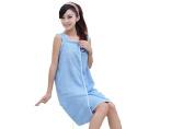 Lucoo soft comfortable New Wearable Towel Bath Spa Shower Swimming Wrap Soft Magic Washcloths