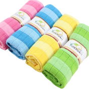 Lucoo soft comfortable New Cotton Car Cloth Towel House Cleaning Practical Kitchen Cleaning Wiping