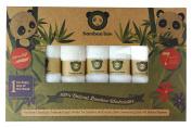 Bamboo Bae 7 Baby Washcloths 100% Natural Premium Super Soft Towels for Sensitive Skin, No Dyes