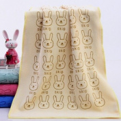 Rabbit Superfine Fibre Towel Child Towel 35x75 Soft Absorbent Beauty Baby Towel