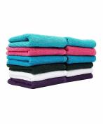 Casa Copenhagen Basics 10 Pack Face/Wash Cloth Towels in Assorted Five Colours