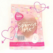 Heart Shape Pink French Clay Organic Konjac Sponge