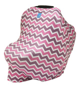 Org Store Premium Stretchy Carseat Canopy, Nursing Cover & Shopping Cart Cover | Perfect for Breastfeeding Moms