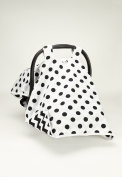 BABY CAR SEAT COVER CANOPY,HAPPY BABY HAPPY LIFE(BEST SELLER)PROUDLY MADE IN THE USA BY ROCKINGHAM ROAD