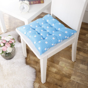 Outtop Cotton Polka Dot Thickened Nine-pin Cushion Seat Chair Pads 40cm X 40cm