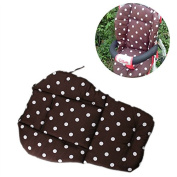 YIDEA Colourful Baby Infant Stroller Pushchair Thick Cotton Seat Cushion-Coffee