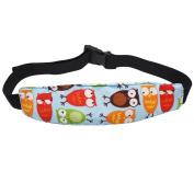 Hysagtek Baby Stroller Car Seat Head Support Band Adjustable Strap for Travelling Sleep Nap