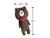 Snow Courage Baby Children Safety Strap Car Seat Belts Pillow Shoulder Protection- Bear Plush Toy