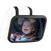 Baby Mirror Car Back Seat,Large and Portable Rear Facing Car Seats Baby Mirror,Essential Accessory For Travel