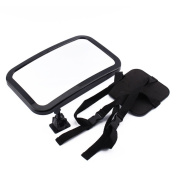 Car Seat Baby Mirror, Adjustable, Shatter-Proof, Rear Facing Infant Seat Mirror