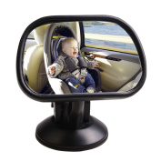 Baby Rear Seat Car Mirror Adjustable Headrest Mount View Kid Safety Care Infant