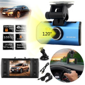 Gotd 1080P 120°Full HD Night Vision Car DVR Vehicle Camera Video Recorder Dash Cam